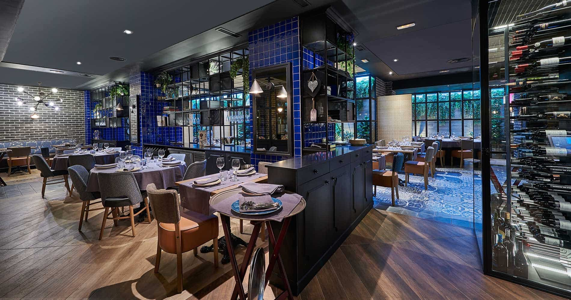 Montes de Galicia, el restaurante Pantone 2020 1