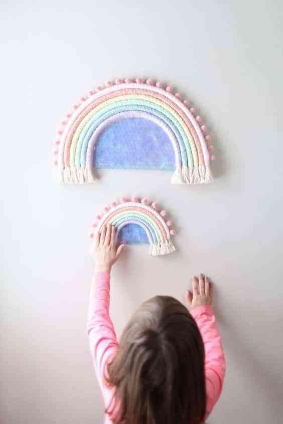 arcoiris para decorar VII