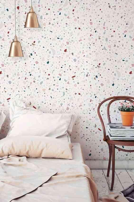 decorar con terrazo paredes