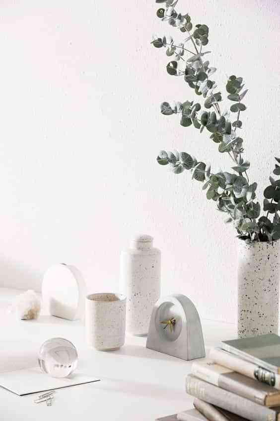 decorar con terrazo jarrones