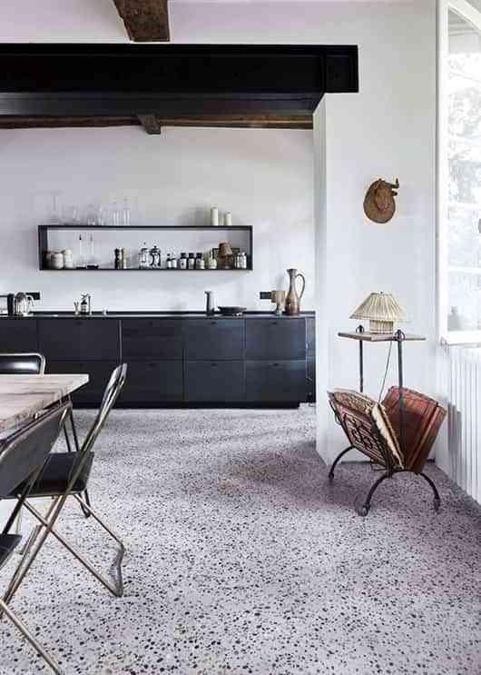 decorar con terrazo suelo