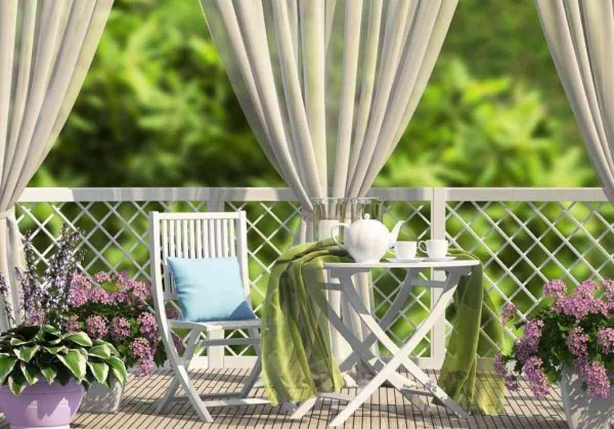 10 ideas para crear privacidad en tu terraza 2