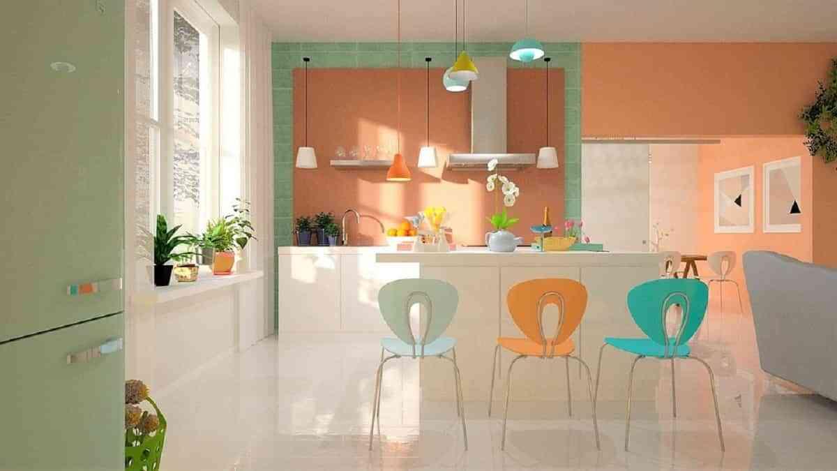 agrega colorido y un toque personal a tu cocina