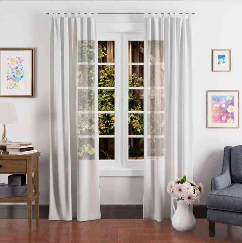 Tipos de cortinas que podemos colocar en nuestro hogar
