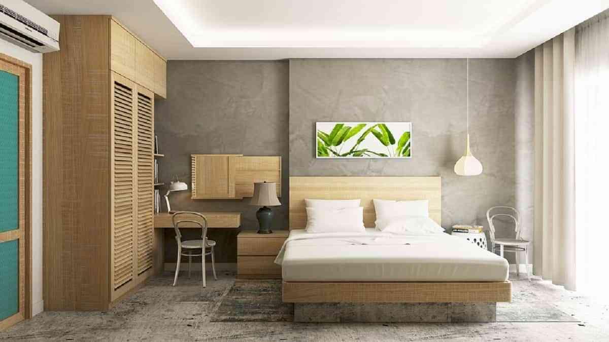 Las cortinas son imprescindibles en la decoración del dormitorio