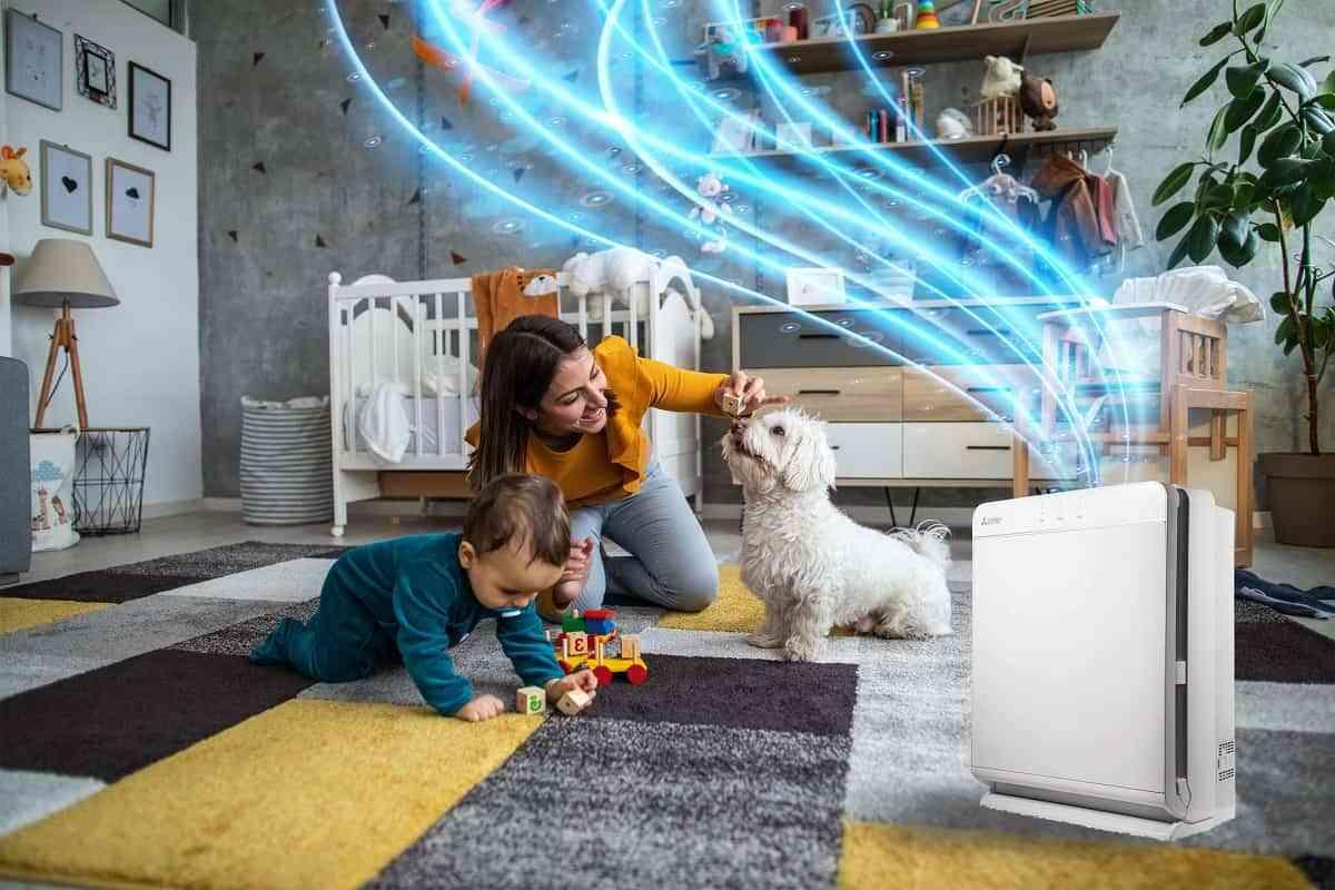 Purificadores de aire portátiles Mitsubishi Electric para tu hogar 1
