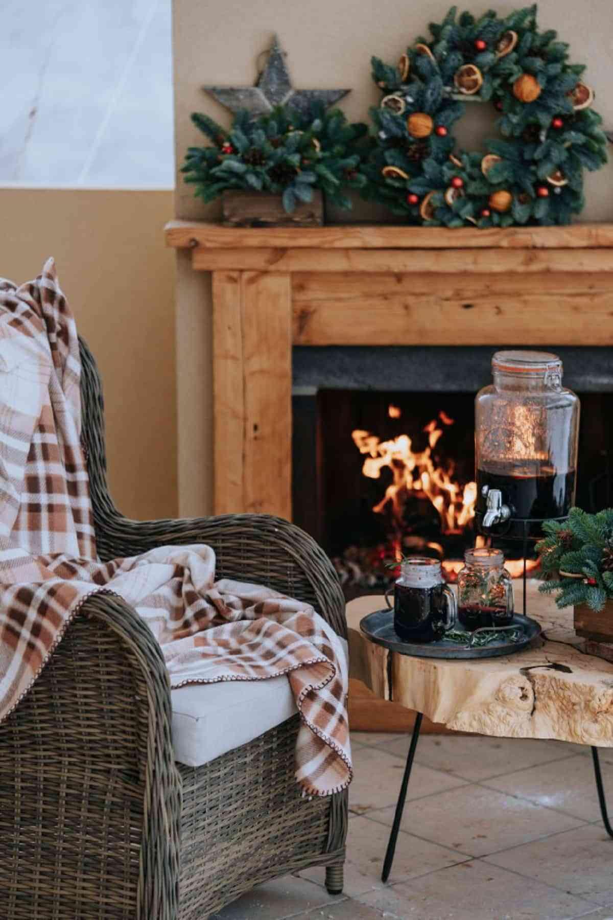 Es fundamental calentar con algún sistema la terraza en invierno.