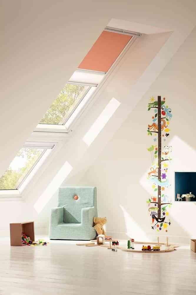 Sencillez y personalización en cortinas para ventanas de tejado 1