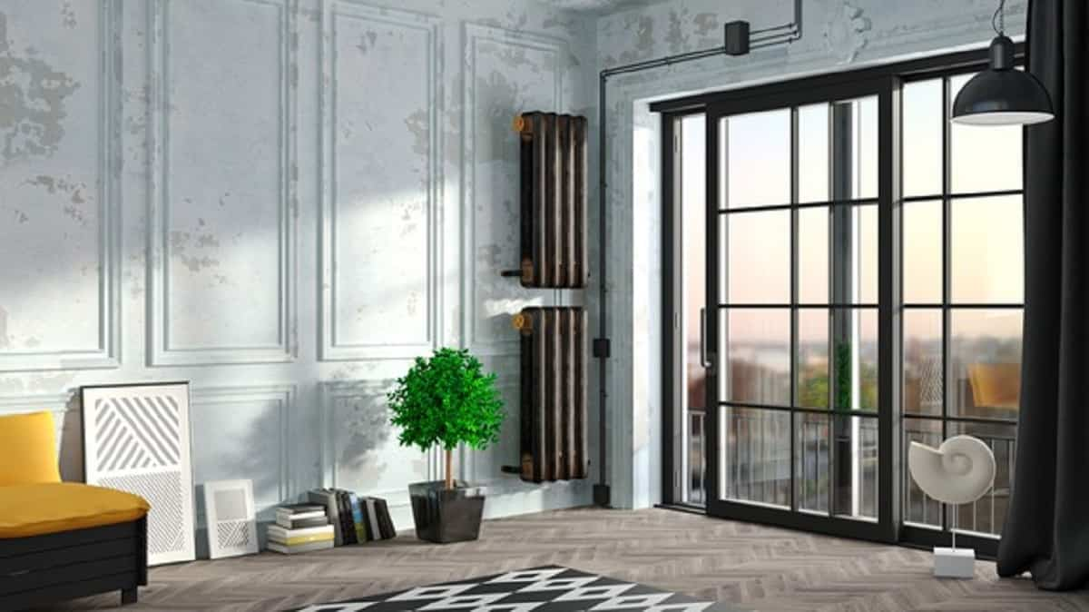 Las puertas correderas son muy prácticas para separar y además decorar cualquier ambiente.