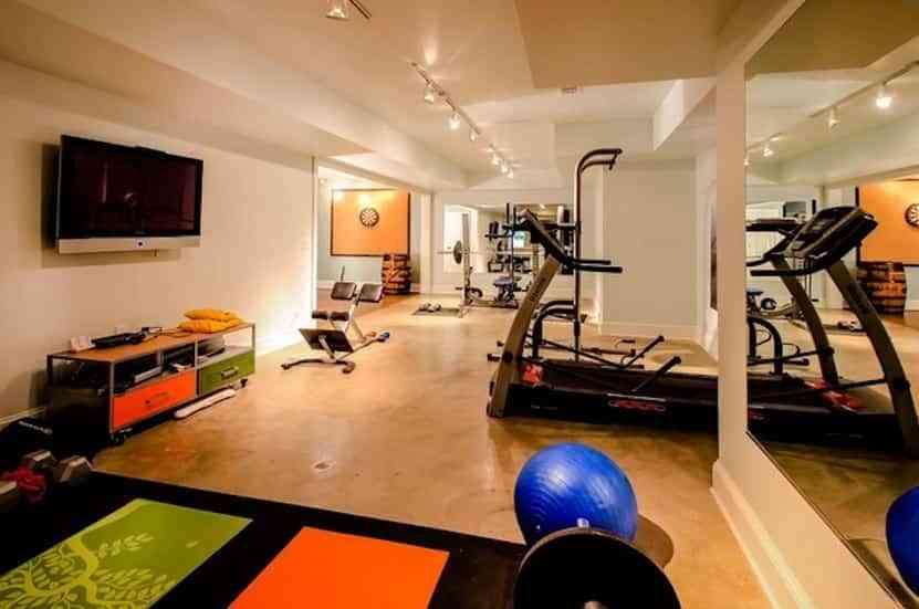 7 ideas para decorar tu gimnasio en casa 4