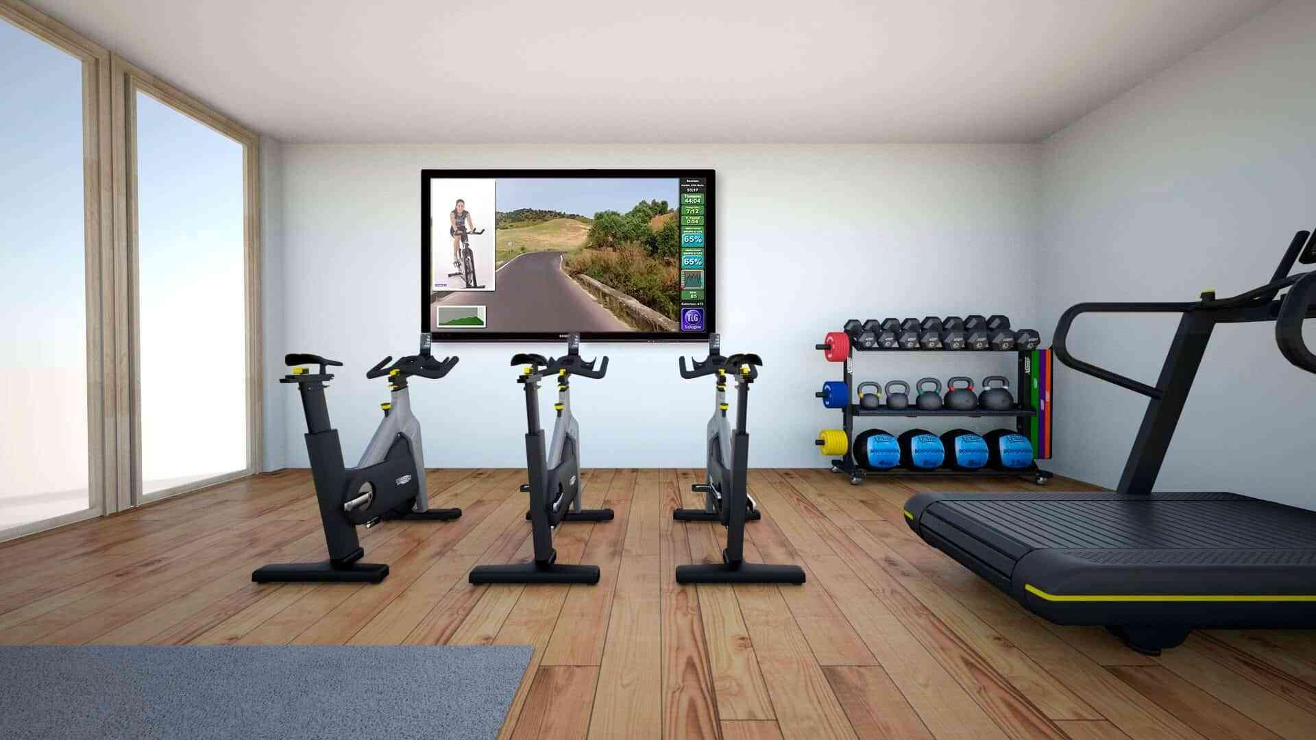 7 ideas para decorar tu gimnasio en casa 6
