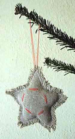 Adornos reciclados para Navidad 6
