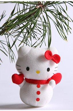 Hello Kitty también para el árbol de Navidad 5