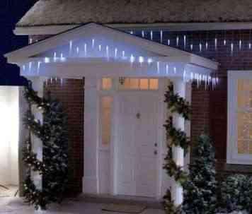 Luces led para la decoraci n navide a - Luces navidenas solares ...