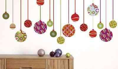 Stickers para la pared con motivos navideños 9