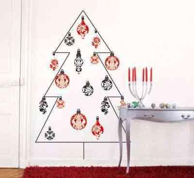 Stickers para la pared con motivos navideños 12