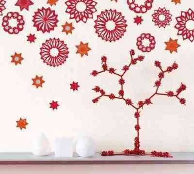 Stickers para la pared con motivos navideños 11