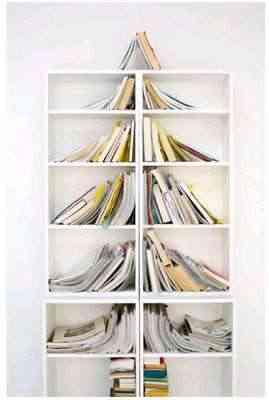 Estantería para libros y árbol de Navidad, dos en uno 3