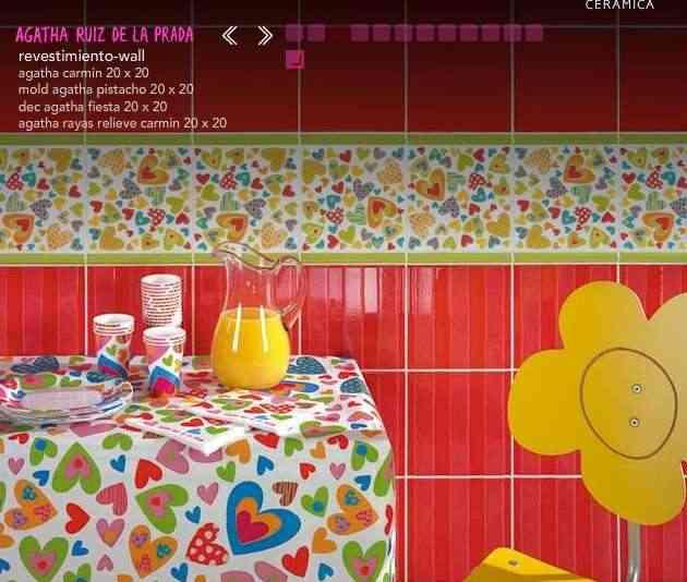 Pisos Para Baños Infantiles:Decoración de interiores con azulejos Agatha