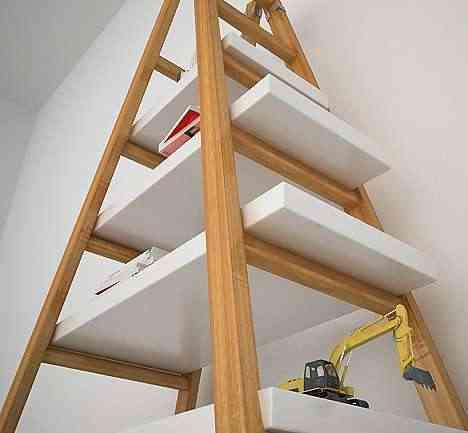 escalera-estanteria