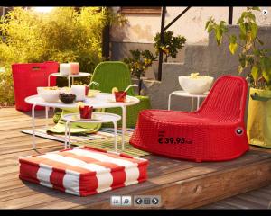 Mobiliario de exterior de ikea para primavera y verano for Cojines jardin ikea