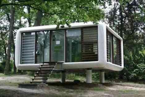 Loftcube para vivir en una azotea - Decoracion de casas de campo pequenas ...