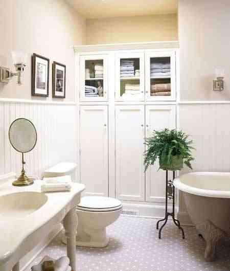 Azulejos Rectangulares Baño:Vintage Style Bathroom