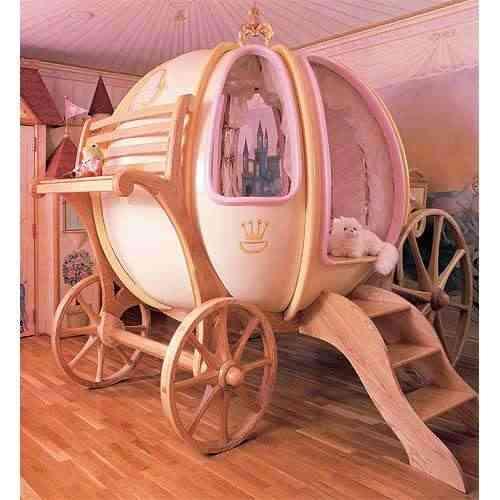 cama carroza cenicienta