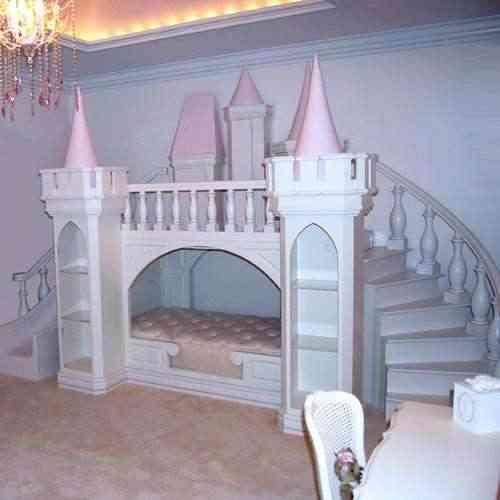 Camas de cuento para las princesas de la casa | Decoración 2.0