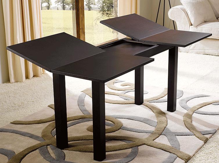Muebles extensibles que ahorran espacio