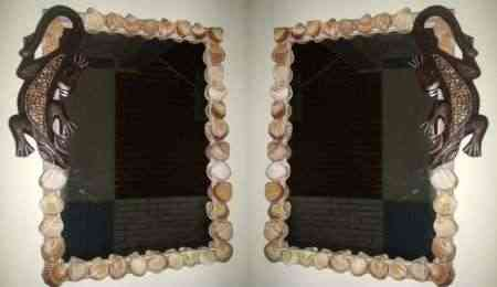 espejo conchas