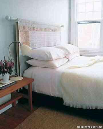 Un cabecero sencillo de hacer - Hacer cabecero cama barato ...