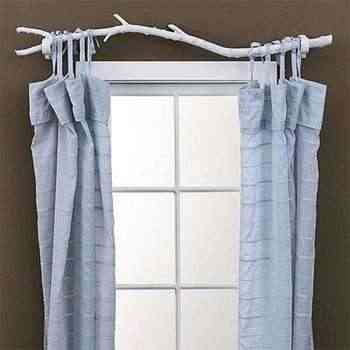 Another way to hang the curtains