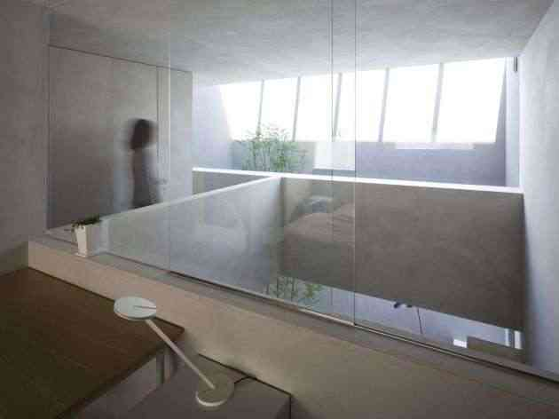 Una casa minimalista y cuadriculada en jap n - Casa minimalista interior ...
