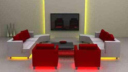 Luces led para iluminar bajo los muebles for Decoracion led hogar