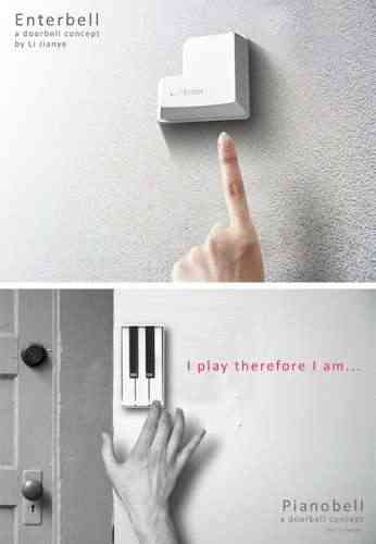 Una forma distinta de llamar a la puerta - Timbre de casa ...