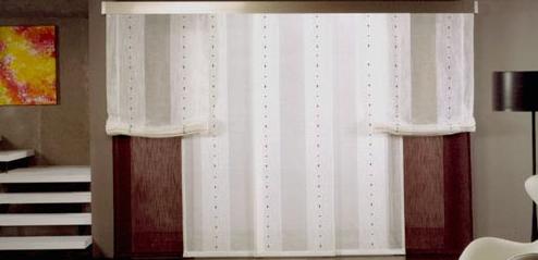 Paneles japoneses para separar ambientes cmo dividir - Riel panel japones leroy merlin ...