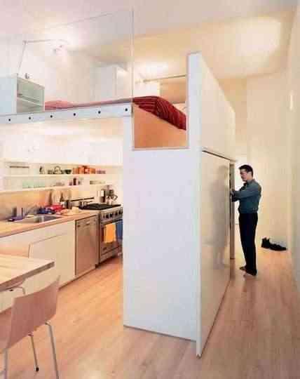 A techos altos habitaciones elevadas for Pisos de 30 metros cuadrados ikea