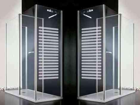 ducha con radiador