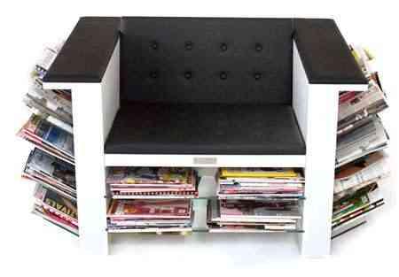 Un sill n exclusivo para tus revistas - Sillon para leer ...