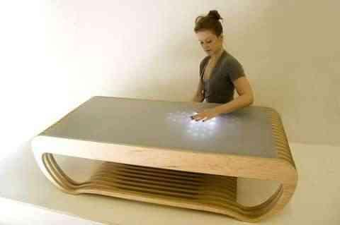 mesa luces led