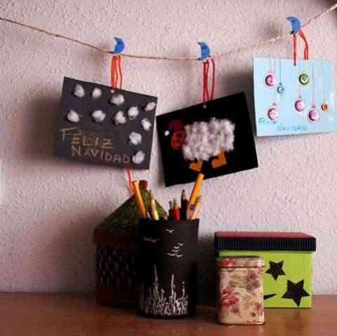 tarjetas navidad artesanales