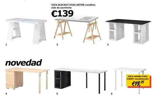 Ikea Mesa Despacho. Best Mesa Escritorio Cristal Curvado Dt Mesa De ...