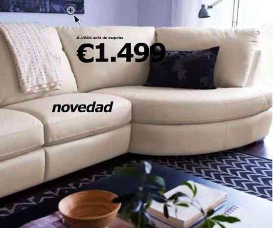 Explorando el cat logo de ikea 2010 serie alvros for Sofa gran confort precios