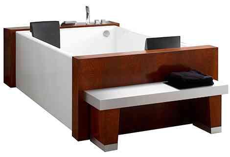 bañera biplaza