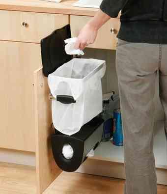 Cubo de basura limpio elegante y pr ctico - Cubo basura puerta ...