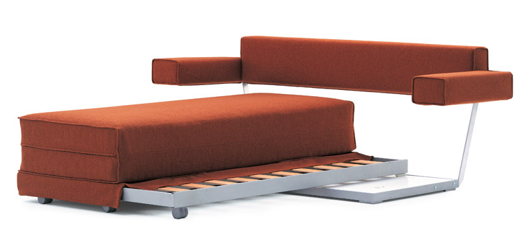 Una renovaci n del sof cama for Sofa cama sin somier