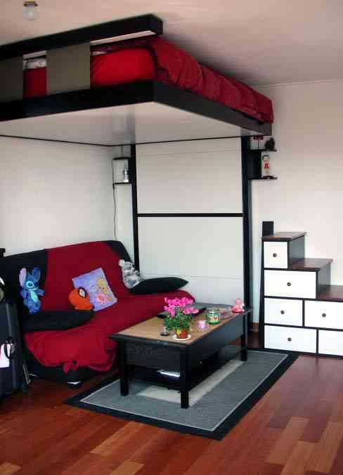 Mil y una formas de hacer la cama - Cama para espacios reducidos ...