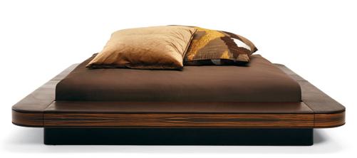 Decoraci n de dormitorios con cama estilo zen for Dormitorio zen oriental