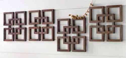 Cuadros de madera para decorar la pared - Decorar paredes con madera ...